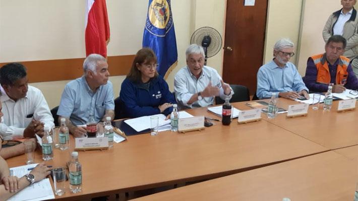 Presidente Piñera compromete más de $20 mil millones para las zonas afectadas por temporal en el norte del país