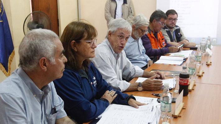 Piñera detalla ayuda para damnificados en el norte y explica por qué no se decreta zona de catástrofe en regiones afectadas