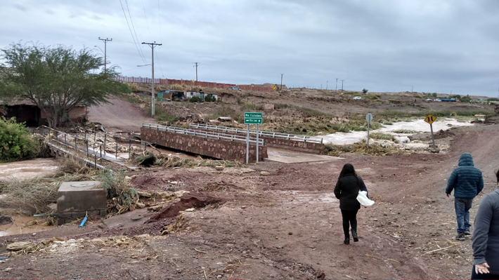 """Meteorología reporta precipitaciones de baja intensidad en el norte y prevé lluvias """"mucho menores que las jornadas previas"""""""