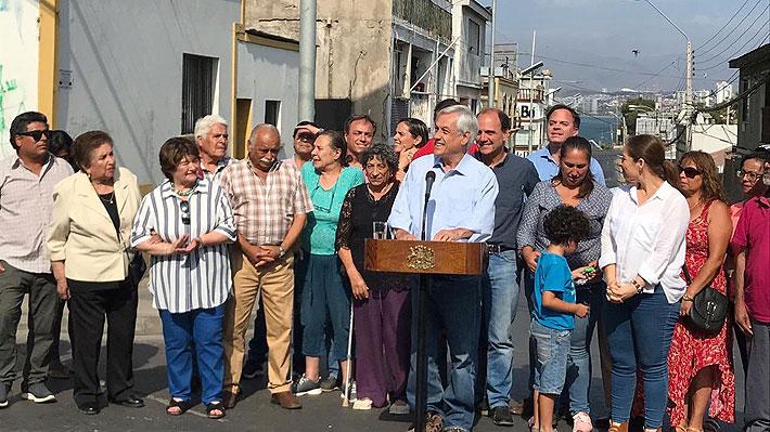 Piñera llega a Coquimbo y anuncia plan de reconstrucción tras terremoto: Destinarán $15 mil millones para la zona