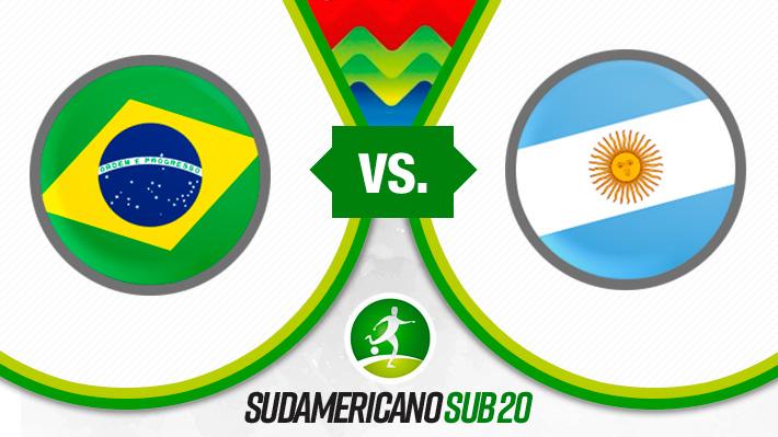Revive la derrota de Argentina ante Brasil en el Sudamericano Sub 20