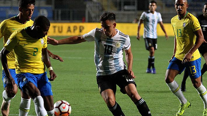 Brasil vence a Argentina, pero no le alcanza y sentencia el fracaso de no ir al Mundial Sub 20