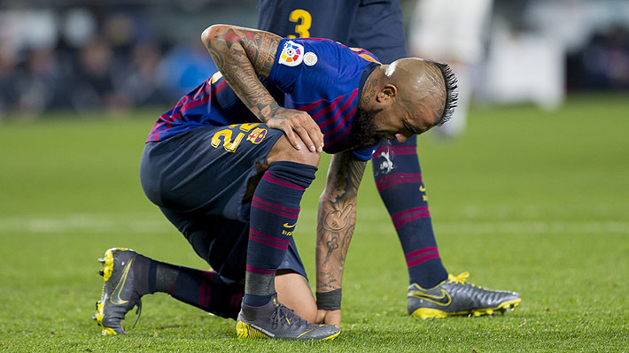 """""""Bruto, torpe y uno de sus peores partidos"""": Lanzan duras críticas a Vidal tras opaco empate del Barcelona"""