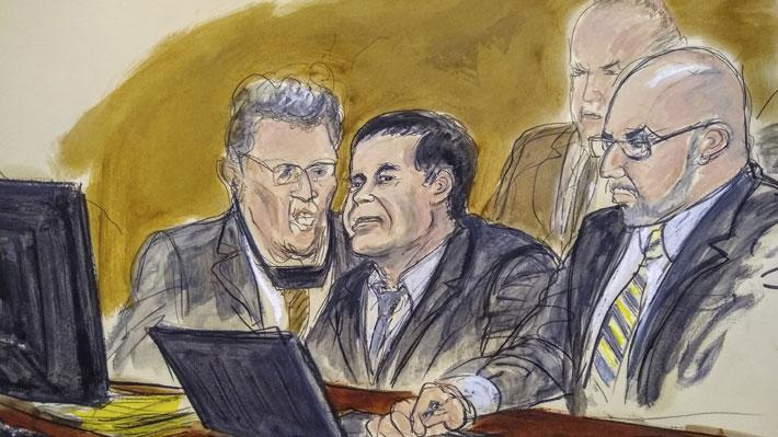 """Jurado del juicio en contra de """"El Chapo"""" Guzmán en EE.UU. inicia segunda semana de deliberación"""