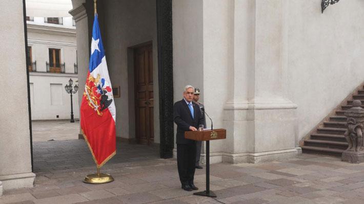 """Piñera cifra en $128 mil millones el gasto por las emergencias y dice que el Gobierno demostró """"capacidad de reaccionar"""""""