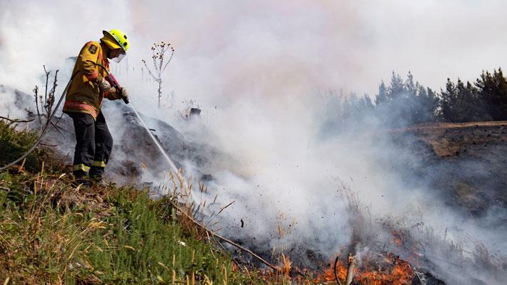 Incendios forestales: 171 brigadas y 51 aeronaves están desplegadas para su combate a nivel nacional