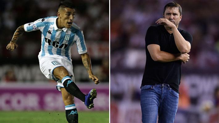 Racing decidió apartar del plantel a Ricardo Centurión tras incidente con su DT en el partido contra River Plate