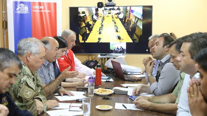 """Jefe de zona en el Biobío explica fallido toque de queda por incendios: """"Era una intención"""""""