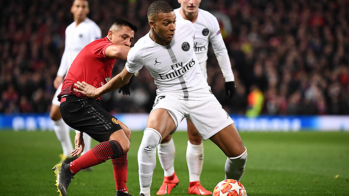 El United y Alexis defraudan y el PSG da el golpe en Old Trafford en la ida por los octavos de Champions League