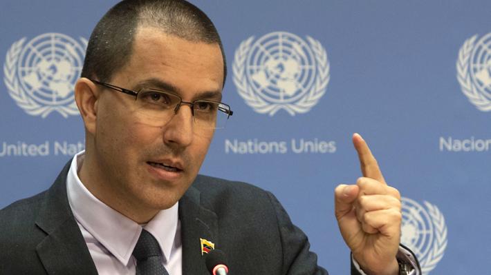 """Canciller de Venezuela niega que haya crisis humanitaria en su país: """"Hay una economía bloqueada y asediada"""""""
