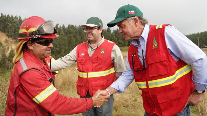"""Ministro de Agricultura sobre intencionalidad de incendios: """"Vamos a perseguir y aplicar todas las sanciones"""""""