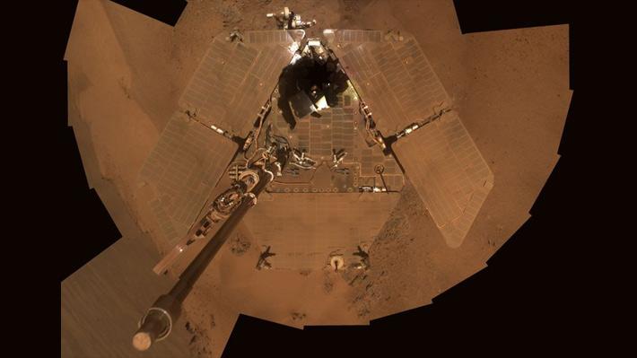 La NASA se prepara para darle el adiós al Opportunity, el rover record que descansa en Marte