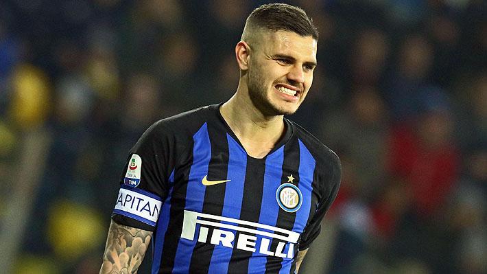 Dichos de Wanda Nara y lío por su renovación, los factores que gatillaron que el Inter le quitara la capitanía a Mauro Icardi