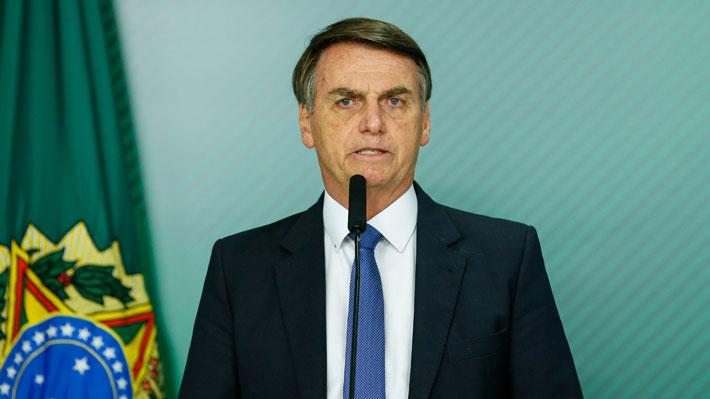 Tras 17 días hospitalizado Jair Bolsonaro recibió el alta médica en Brasil