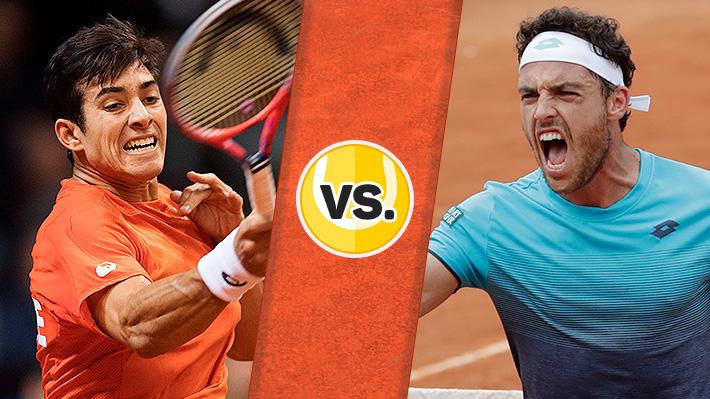 Revive la derrota de Christian Garin ante Marco Cecchinato en el ATP 250 de Buenos Aires