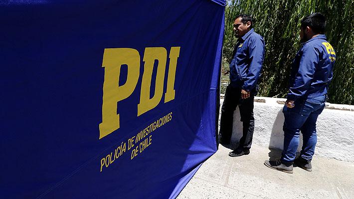 PDI busca caja fuerte robada en Pudahuel con dos productos rotulados como cianuro