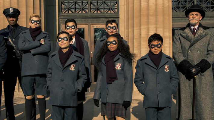 """""""The Umbrella Academy"""", la nueva apuesta de Netflix que trata sobre atípicos superhéroes"""