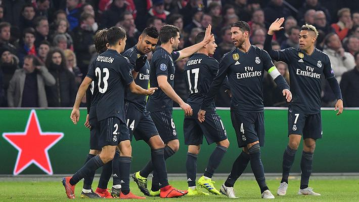 Real Madrid queda en buen pie para avanzar a los cuartos de la Champions tras derrotar al Ajax como visitante