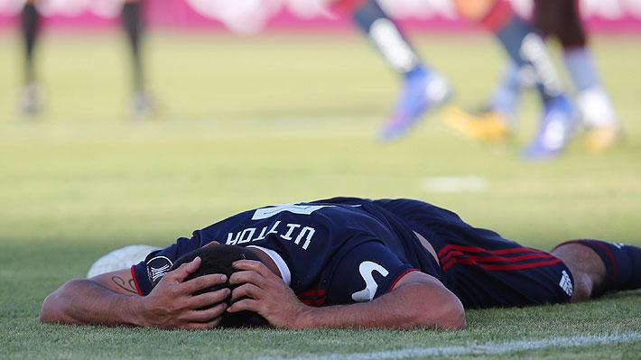 ¿Fue falta? El gol anulado a la U en los últimos minutos y que pudo llevar el partido a los penales