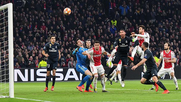 En la Champions quisieron evitar polémicas y explicaron por qué anularon con el VAR el discutido gol del Ajax al Madrid