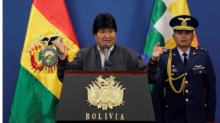 Oposición boliviana denuncia a Evo Morales ante la CIDH por su candidatura a la reelección