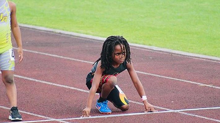 ¿El heredero de Usain Bolt? Rudolph Ingram, el niño de siete años que causa furor en redes sociales por su velocidad
