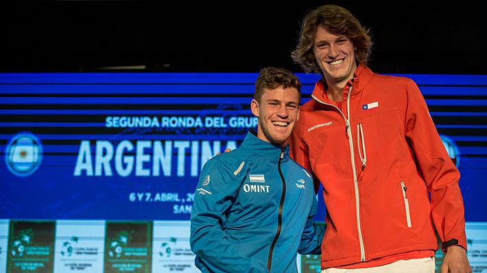 Chile irá contra Argentina y un duro rival europeo en las finales de la Copa Davis