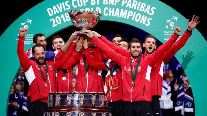 """El B es el """"de la muerte"""": Mira cómo quedaron conformados los grupos de la fase final de la Copa Davis 2019"""