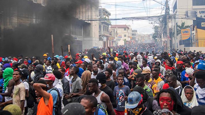 Galería: ¿Por qué protestan en Haití? Fotos compilan una semana de vehementes manifestaciones