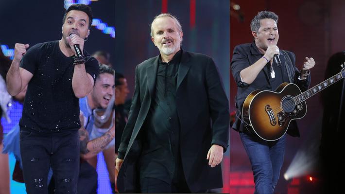 Miguel Bosé, Alejandro Sanz y Luis Fonsi participarán de concierto benéfico que reunirá ayuda para Venezuela