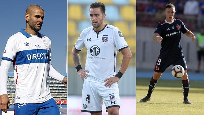 Varios refuerzos en la lista: Las figuras que se perderán el inicio del Campeonato Nacional que arranca hoy