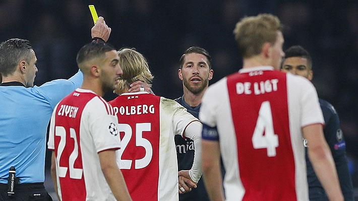 Sergio Ramos se defiende y aclara polémica acción que podría costarle caro en la Champions