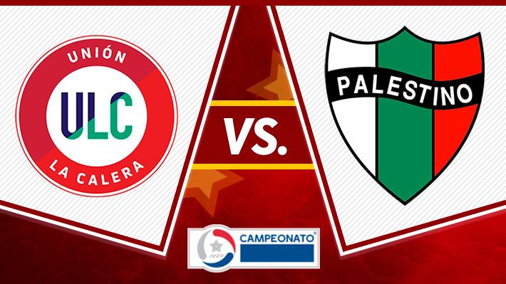 Revisa el triunfo de Unión La Calera frente a Palestino en el debut del Campeonato Nacional 2019
