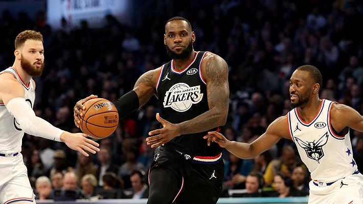 El equipo de LeBron tuvo una notable remontada y venció al Team Giannis en el All-Star 2019 de la NBA
