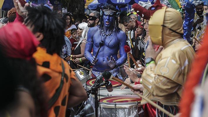 El impensado efecto en el turismo chileno que podría tener el Carnaval de Río que este año se realiza en marzo