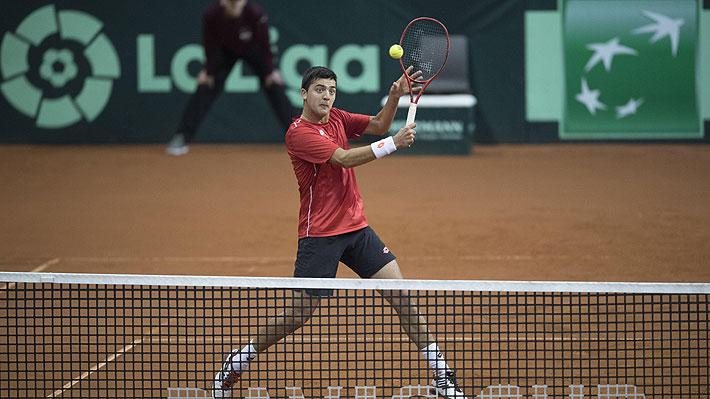 Tras su sorprendente paso por la Copa Davis, Tomás Barrios vuelve al circuito con sólida victoria en el Challenger de Morelos