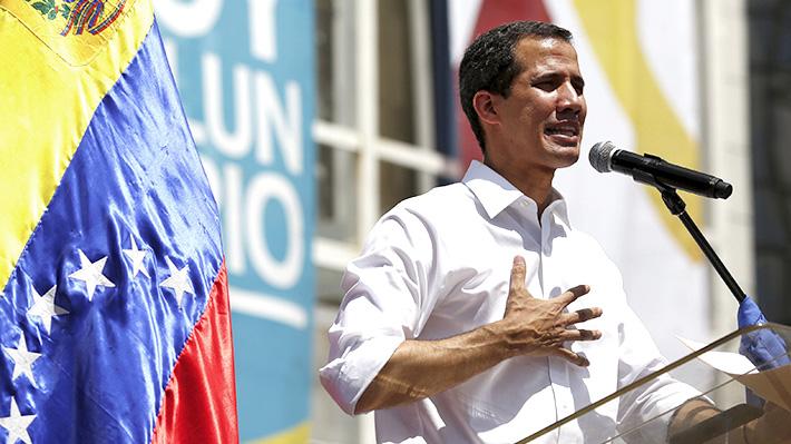 """Guaidó valora viaje de Presidente Piñera a Cúcuta: """"Nos sentimos muy orgullosos"""""""