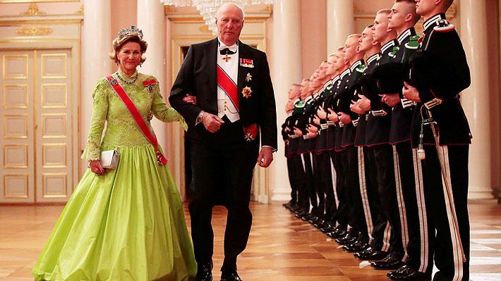 Reyes de Noruega visitarán Chile en marzo como celebración de los 100 años de relaciones diplomáticas
