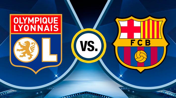 Repase la igualdad entre el Barcelona y el Lyon por la Champions