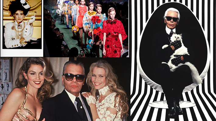 Galería I Karl Lagerfeld: sus musas, sus diseños y su fotografía