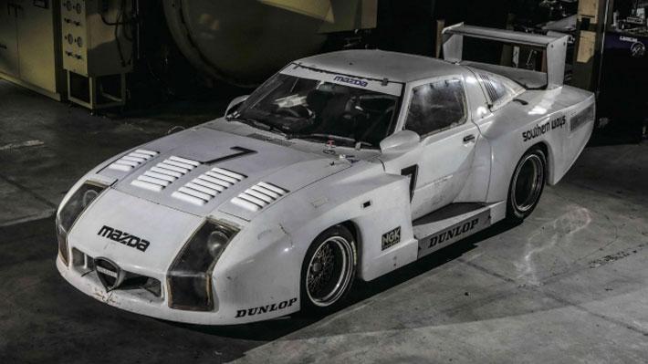 Encuentran mítico Mazda de carreras que estuvo perdido por más de 30 años