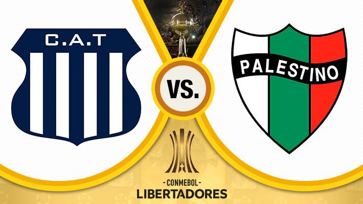 Mira cómo fue el empate entre Palestino y Talleres por la ida de la Fase 3 de la Libertadores