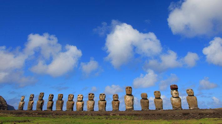 Reyes noruegos respaldarán acuerdo para repatriar piezas arqueológicas a Isla de Pascua durante visita a Chile