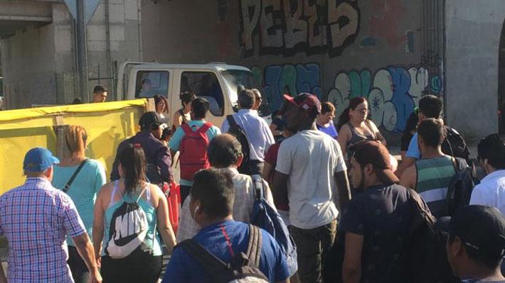 Caos en metro Los Libertadores: La externalidad de la Línea 3 que la empresa, el MOP y las municipalidades buscan mitigar