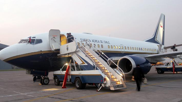 Avión presidencial sufre falla técnica y retrasa viaje de Presidente Piñera a Cúcuta