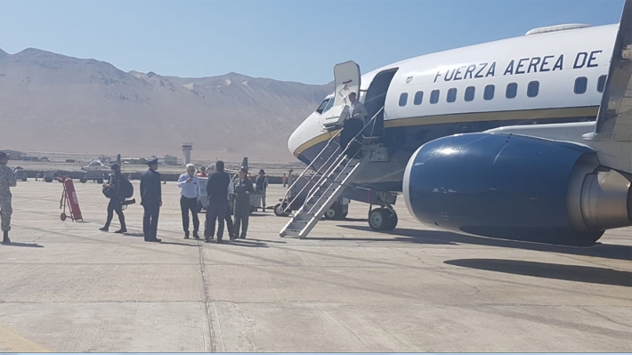 Fuerza Aérea detecta falla del avión presidencial y delegación reiniciará esta tarde su viaje a Cúcuta