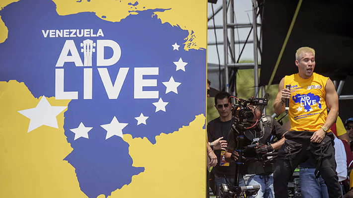 """Galería: El día de la entrega de ayuda humanitaria y el """"Venezuela Aid Live"""""""
