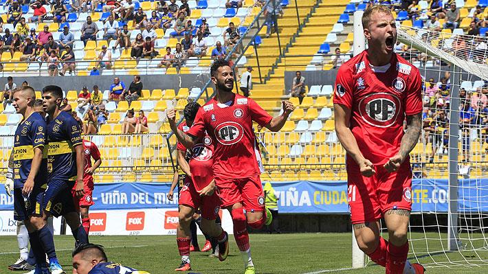 La Calera continúa con su buena racha y ahora derrota a Everton para mantenerse arriba en el Torneo Nacional