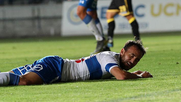 José Pedro Fuenzalida es uno de ellos: La UC tendrá cuatro bajas para su duelo ante Deportes Iquique