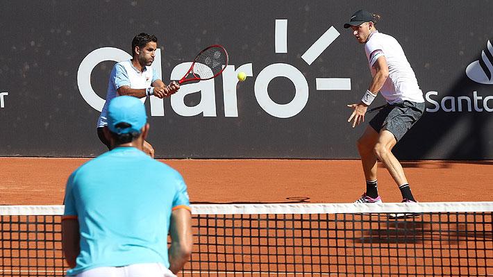 En un tremendo partido, Nicolás Jarry gana el título en dobles del ATP de Río y logra su segundo trofeo en la modalidad